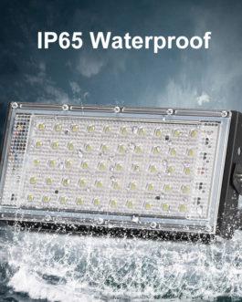 LED Flood Light 50W 220V 240V Floodlight IP65 Waterproof Outdoor Wall Reflector Lighting Garden Square Spotlight